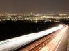 Kandler Autobahn bei Nacht