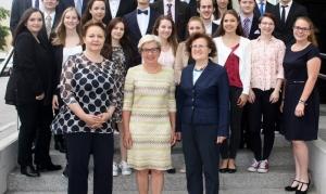 Maturaklasse 5c der höheren Lehranstalt für wirtschaftliche Berufe Biedermannsdorf